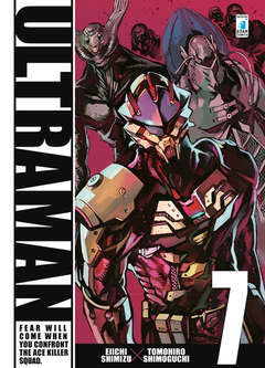 Copertina ULTRAMAN n.7 - ULTRAMAN 7, STAR COMICS