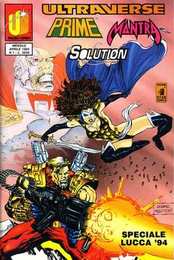 STAR COMICS - ULTRAVERSE PRIME