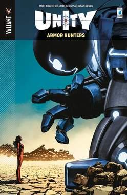 Copertina UNITY n.3 - ARMOR HUNTERS, STAR COMICS