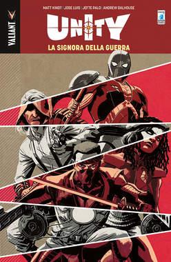 Copertina UNITY n.6 - LA SIGNORA DELLA GUERRA, STAR COMICS