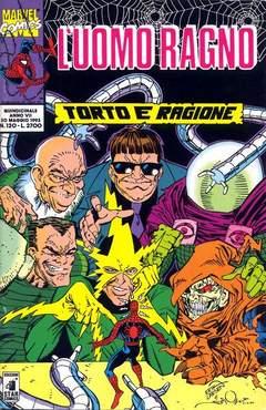 Copertina UOMO RAGNO n.120 - L'UOMO RAGNO               120, STAR COMICS