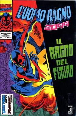 Copertina UOMO RAGNO 2099 n.1 - L'UOMO RAGNO 2099            1, STAR COMICS