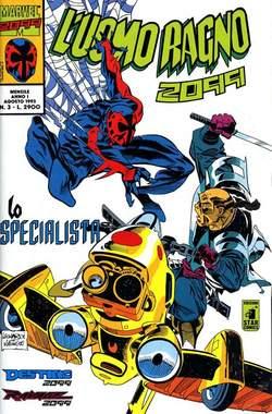 Copertina UOMO RAGNO 2099 n.3 - L'UOMO RAGNO 2099            3, STAR COMICS