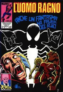Copertina UOMO RAGNO n.43 - L'UOMO RAGNO                43, STAR COMICS