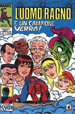 Copertina UOMO RAGNO n.67 - L'UOMO RAGNO                67, STAR COMICS
