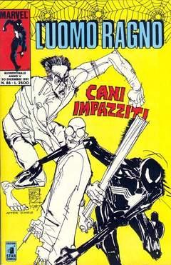Copertina UOMO RAGNO n.86 - L'UOMO RAGNO                86, STAR COMICS