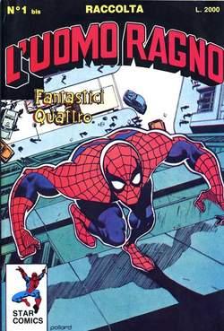 STAR COMICS - UOMO RAGNO Raccolta