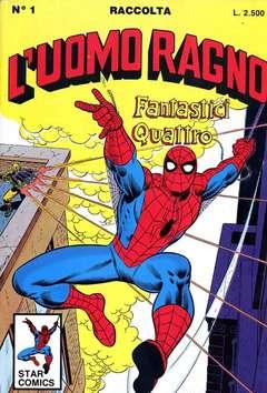 Copertina UOMO RAGNO Raccolta n.1 - L'UOMO RAGNO Raccolta          1, STAR COMICS