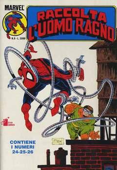 Copertina UOMO RAGNO Raccolta n.8 - L'UOMO RAGNO Raccolta        8, STAR COMICS