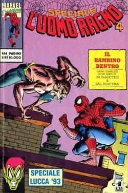 Copertina UOMO RAGNO SPECIALE n.4 - BAMBINO DENTRO LUCCA 93, STAR COMICS