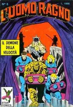 Copertina UOMO RAGNO n.5 - UOMO RAGNO                   5, STAR COMICS