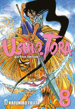 Copertina USHIO E TORA PERFECT ED. (m20) n.8 - USHIO E TORA PERFECT EDITION, STAR COMICS