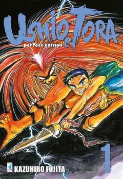 Copertina USHIO E TORA PERFECT EDITION n.1 - USHIO E TORA PERFECT EDITION (m20), STAR COMICS