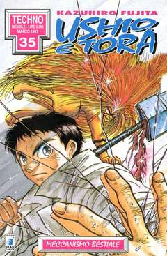 Copertina USHIO E TORA n.3 - USHIO E TORA 3, STAR COMICS