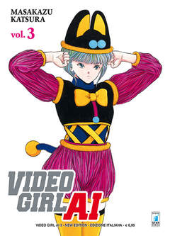 Copertina VIDEO GIRL AI NEW EDITION n.3 - VIDEO GIRL AI NEW EDITION, STAR COMICS