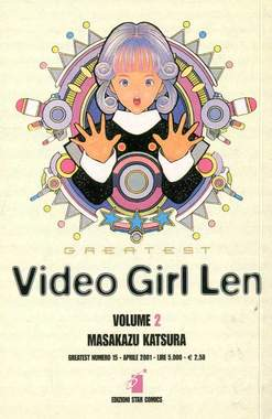 Copertina VIDEO GIRL LEN n.2 - VIDEO GIRL LEN 2, STAR COMICS