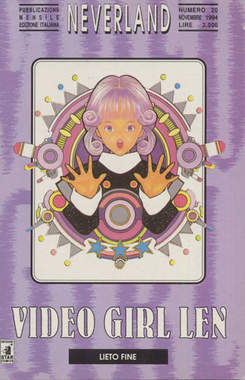 Copertina VIDEO GIRL LEN n.3 - VIDEO GIRL LEN 3, STAR COMICS