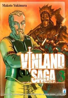 Copertina VINLAND SAGA n.3 - VINLAND SAGA 3, STAR COMICS