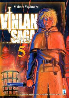 Copertina VINLAND SAGA n.5 - VINLAND SAGA 5, STAR COMICS