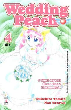 Copertina WEDDING PEACH n.4 - WEDDING PEACH 4, STAR COMICS