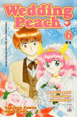 Copertina WEDDING PEACH n.6 - WEDDING PEACH 6, STAR COMICS
