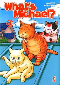 Copertina WHAT'S MICHAEL? MIAO EDITION n.4 - NEVERLAND 349, STAR COMICS
