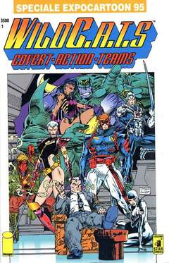 Copertina WILDC.A.T.S n.1 - WILDC.A.T.S 1, EXPOCARTOON 95, STAR COMICS