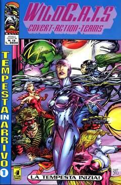 Copertina WILDC.A.T.S n.13 - WILDC.A.T.S                 13, STAR COMICS