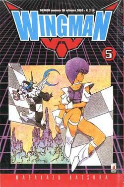 Copertina WINGMAN n.5 - WINGMAN 5, STAR COMICS