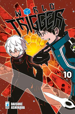 Copertina WORLD TRIGGER n.10 - STARDUST 57, STAR COMICS