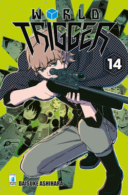 Copertina WORLD TRIGGER n.14 - WORLD TRIGGER, STAR COMICS