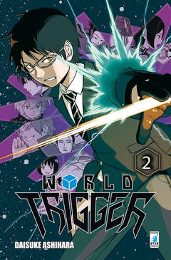 Copertina WORLD TRIGGER n.2 - WORLD TRIGGER, STAR COMICS