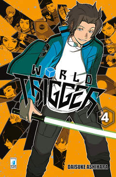 Copertina WORLD TRIGGER n.4 - WORLD TRIGGER, STAR COMICS