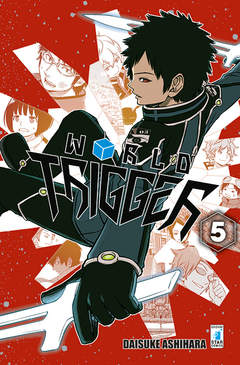 Copertina WORLD TRIGGER n.5 - WORLD TRIGGER, STAR COMICS