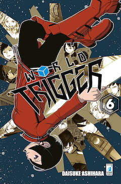 Copertina WORLD TRIGGER n.6 - WORLD TRIGGER, STAR COMICS