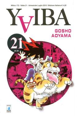 Copertina YAIBA n.21 - YAIBA (m24), STAR COMICS
