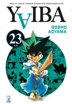 Copertina YAIBA n.23 - YAIBA (m24), STAR COMICS