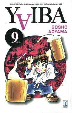 Copertina YAIBA n.9 - YAIBA (m24), STAR COMICS