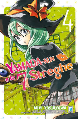 Copertina YAMADA-KUN E LE 7 STREGHE n.4 - YAMADA-KUN E LE 7 STREGHE, STAR COMICS