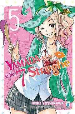 Copertina YAMADA-KUN E LE 7 STREGHE n.5 - YAMADA-KUN E LE 7 STREGHE, STAR COMICS