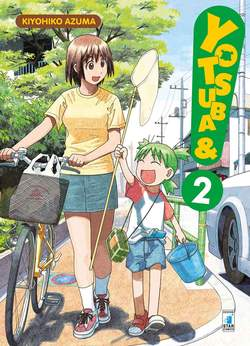 Copertina YOTSUBA&! n.2 - YOTSUBA&! 2, STAR COMICS