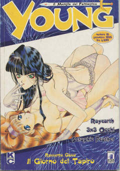 Copertina YOUNG n.16 - RAYEARTH - 3X3 OCCHI - SERAPHIC FEATHER, STAR COMICS