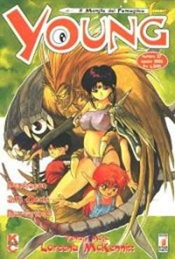 Copertina YOUNG n.27 - RAYEARTH - 3X3 OCCHI - SERAPHIC FEATHER, STAR COMICS