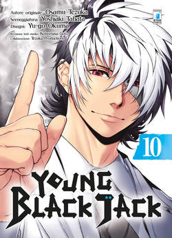Copertina YOUNG BLACK JACK n.10 - YOUNG BLACK JACK, STAR COMICS