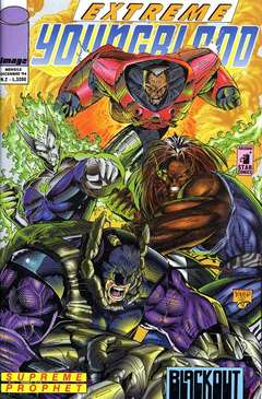 Copertina YOUNGBLOOD n.2 - EXTREME                      2, STAR COMICS