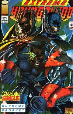 Copertina YOUNGBLOOD n.3 - EXTREME                      3, STAR COMICS