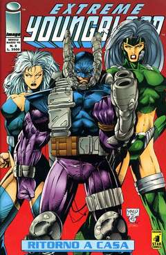 Copertina YOUNGBLOOD n.5 - EXTREME                      5, STAR COMICS