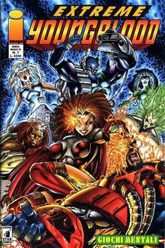 Copertina YOUNGBLOOD n.7 - EXTREME                      7, STAR COMICS