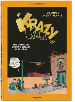 Copertina Extra Large n. - GEORGE HERRIMAN, THE COMPLETE KRAZY KAT IN COLOR 1935-1944, TASCHEN