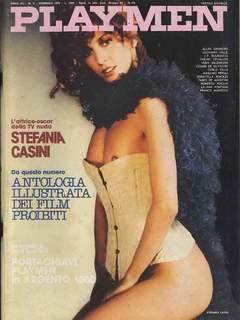 Copertina PLAYMEN 1978 ANNO 12 n.2 - Stefania Casini, TATTILO EDITRICE